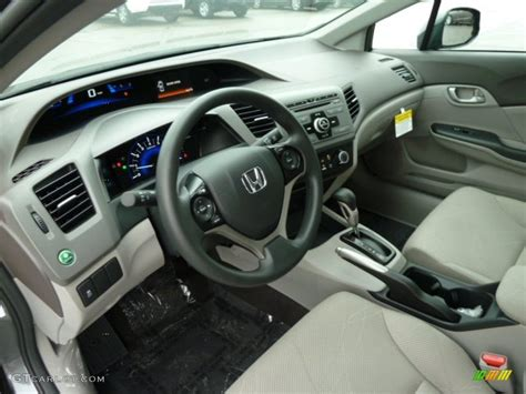 gray interior 2012 honda civic lx sedan photo 54480344