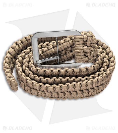 grindworx large survival paracord belt wide solomon
