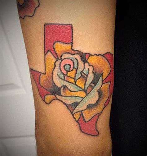 yellow rose of texas tattoo 70 sensational state of tattoos tattooblend