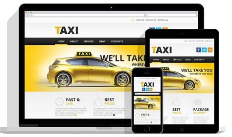 Cab Service Website Template Free Download Archives Premium Wordpress And Ghost Themes For Taxi Company Website Template