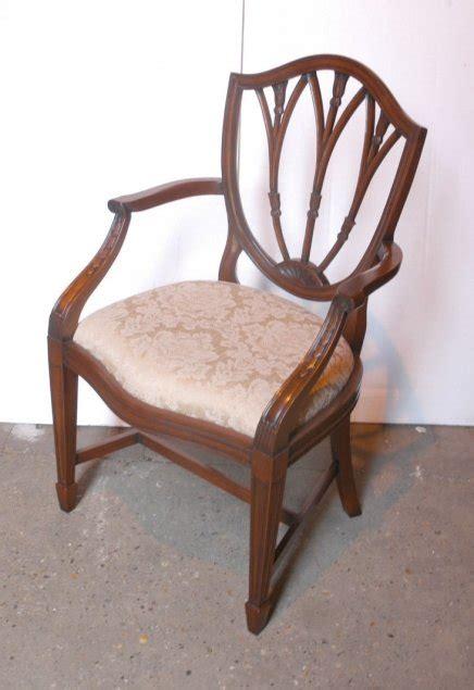 Set 10 Hepplewhite English Mahogany Dining Chairs Chair Mahogany Dining Chairs For Sale