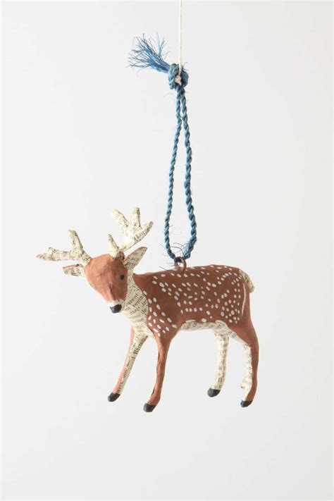 forest story deer ornament reindeer pinterest