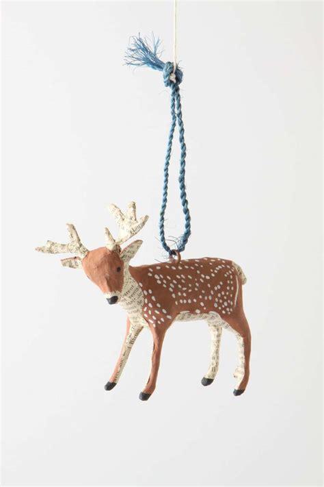 deer ornaments forest story deer ornament reindeer