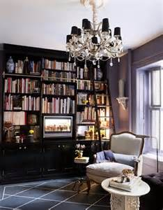 library bookcase ladder お気に入り 海外のインテリアブログ table coordinate salon de