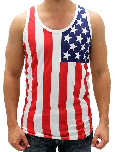 Top Flag american flag tank tops usa tank tops