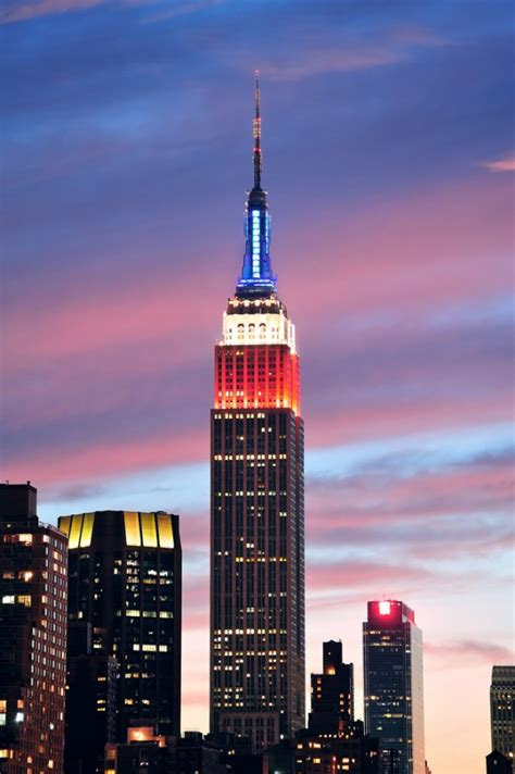 Empire State Building Lights Schedule by Visiting The Empire State Building Walks Of New York