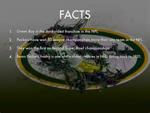 facts about green green bay packers by 085100054