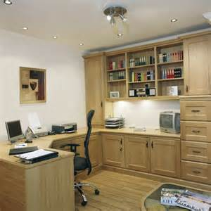 Fitted Home Office Furniture Uk Fitted Home Office Impala Oak
