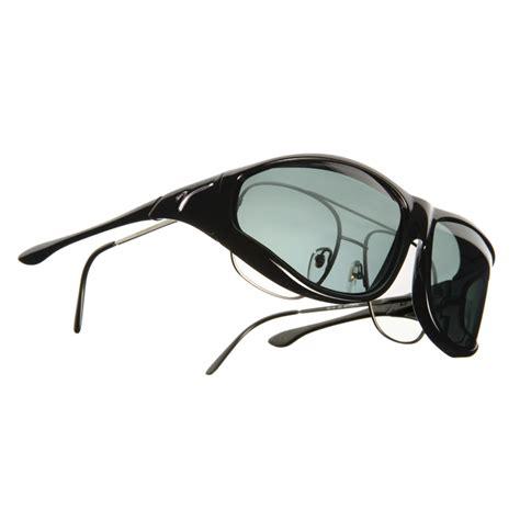 vistana x large xl black frame polarized gray lenses
