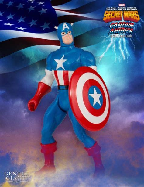 Jumbo Capt America gentle marvel secret wars jumbo captain america the toyark news