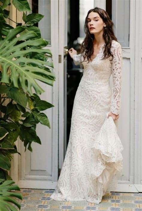 30 stylish and pretty backyard wedding dresses