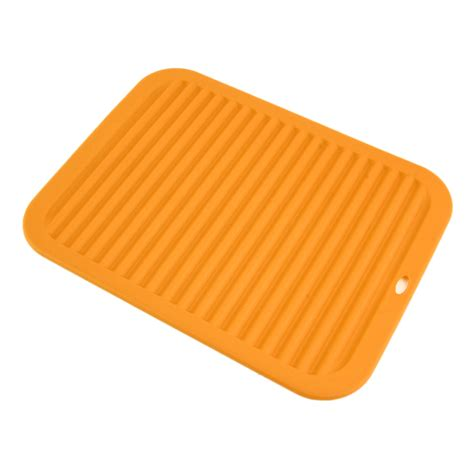 Kitchen Heat Pad by Kitchen Durable Rectangle Silicone Dish Drying Mat Pad