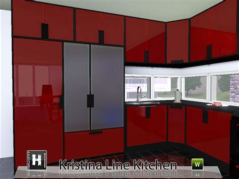 kitchen pack 4 promotional artwork for home design 3d the best mod the sims kristina line kitchen