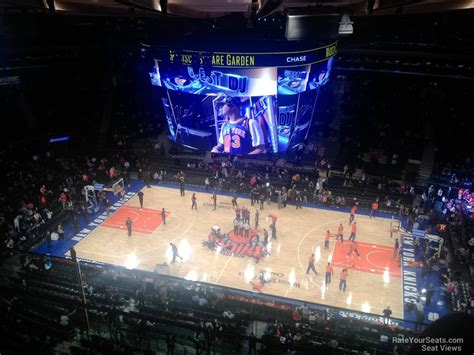 msg section 1 madison square garden section 314 new york knicks