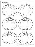 small pumpkin template pumpkins printable templates coloring pages