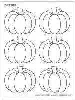pumpkins printable templates amp coloring pages