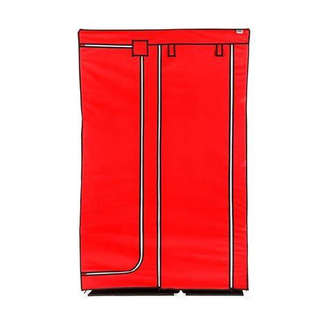 Lemari Rak Pakaian Baju Serbaguna Praktis Mudah Dirawat Termurah Promo jual nine box dw lemari pakaian 2 pintu harga kualitas terjamin blibli