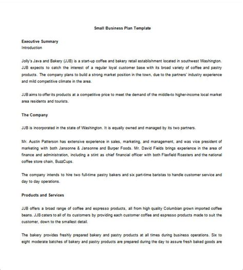 joint venture term sheet sample and detailed business plan template