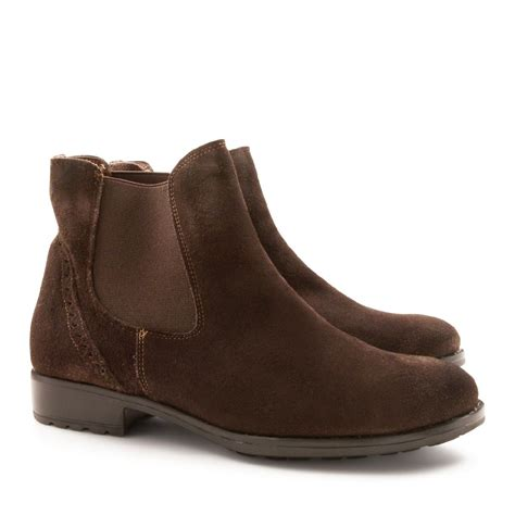 Handmade Booties - handmade s chelsea boots in suede leather leonardo