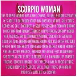 scorpio woman astrology personality pinterest