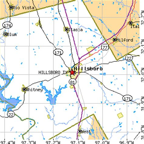 map of hillsboro texas hillsboro tx pictures posters news and on your pursuit hobbies interests and worries