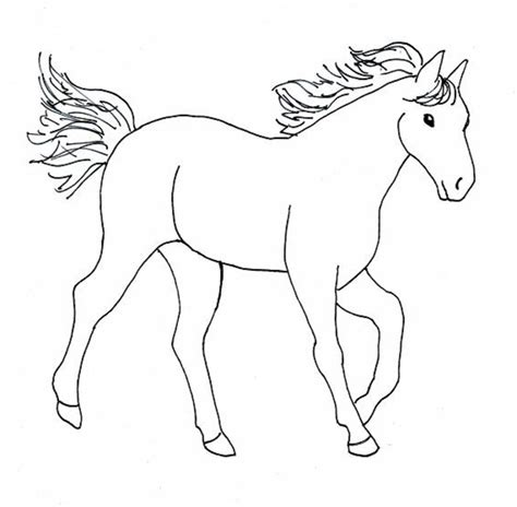 pictures of horses to color color horses az coloring pages