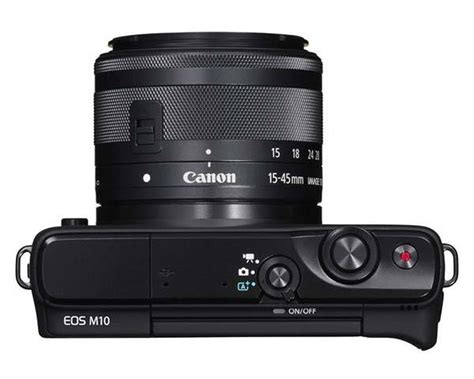 Lensa Canon Eos M10 canon eos m10 mirrorless boasts compact 18mp