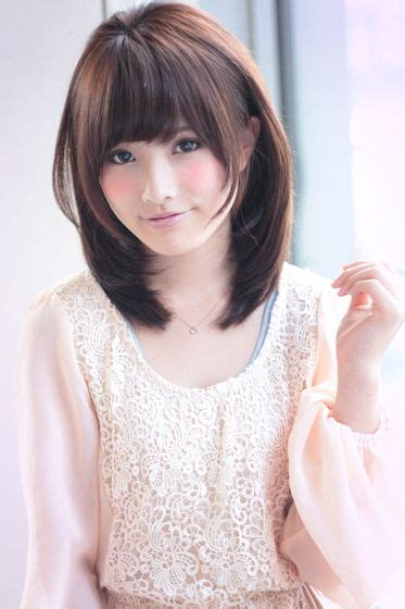 hairstyle berponi ふんわりミディアム afloat ruvuaのヘアスタイル hair style haircuts and