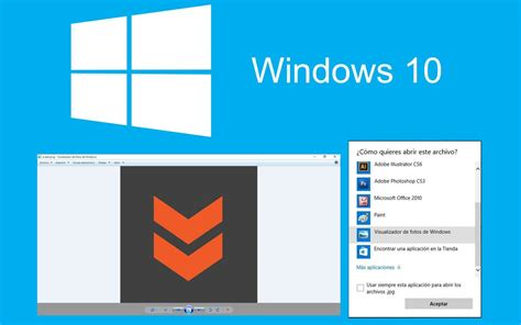 visor imagenes jpg windows como traer de vuelta el visualizador de fotos en windows 10