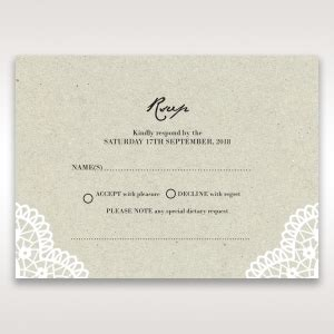 dinner response card template rsvp cards by b wedding matching products and designs