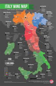 Wine Map Of Italy italian wine regions images