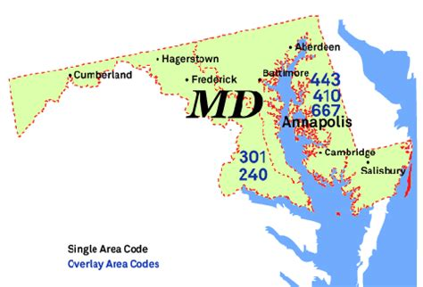 what us area code is 301 301 area code teracodes
