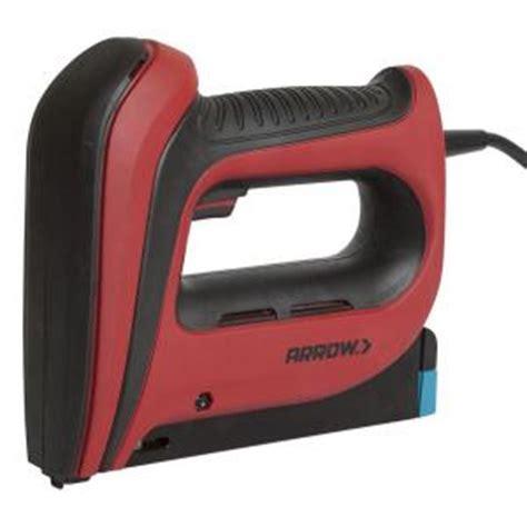 home depot upholstery stapler arrow fastener t50 5 in electric stapler t50acd r the