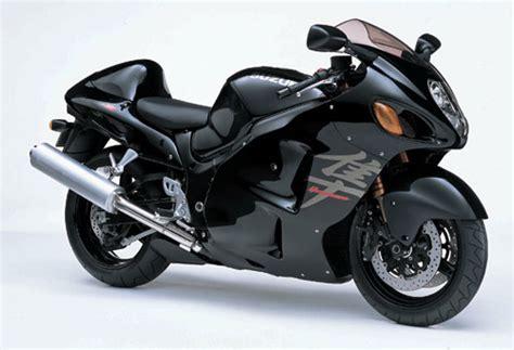 Black Suzuki Hayabusa S Motorblog It S Not Just About Power 2003