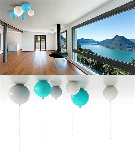 Ceiling And Wall Lights Glass Balloon Ceiling And Wall Lights