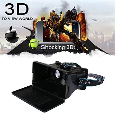 Ritech Riem 3 Vr Cardboard 3d Reality 3rd Generation 1 favolcano ritech riem iii cardboard 3d