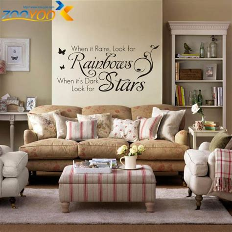 Living Room Wall Quotes Uk Home Decoration Quotes Wall Decals Bedroom Zooyoo8140