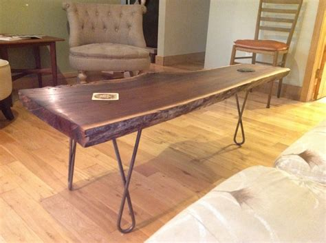 walnut coffee table legs black walnut table with the twist hairpin legs