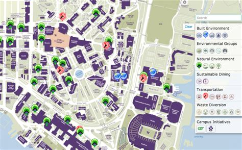 uw map maps and cus history uw sustainability
