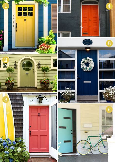 colorful doors our front door willard and may outdoor living blog