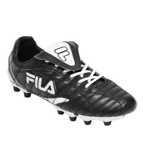 fila football shoes fila forza li football shoes black white price in india