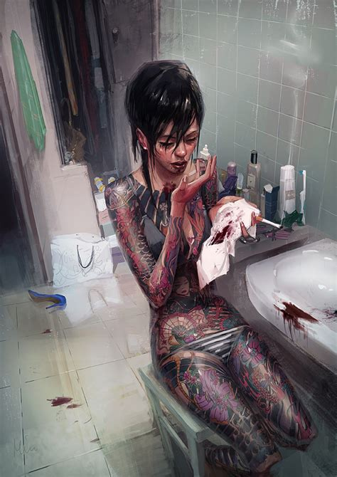 yakuza tattoo queen street cbelltown yakuza girl by maykrender on deviantart