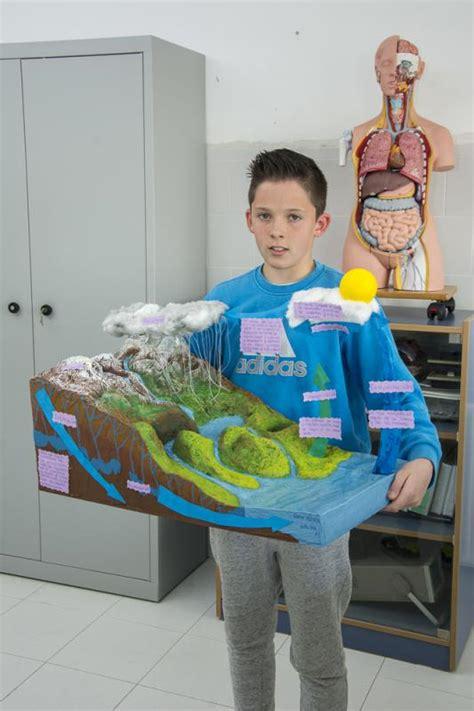 maqueta sobre el agua para alumno de 3 grado concurso maquetas ciclo del agua dpto de ciencias
