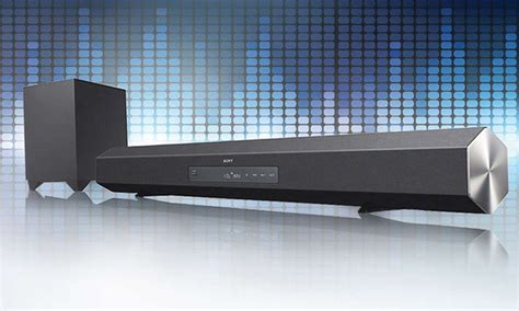 Livingroom Theater Sony 2 1 Channel Sound Bar With Wireless Active Subwoofer