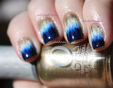 Simple nail designs dip dye nails wickednails