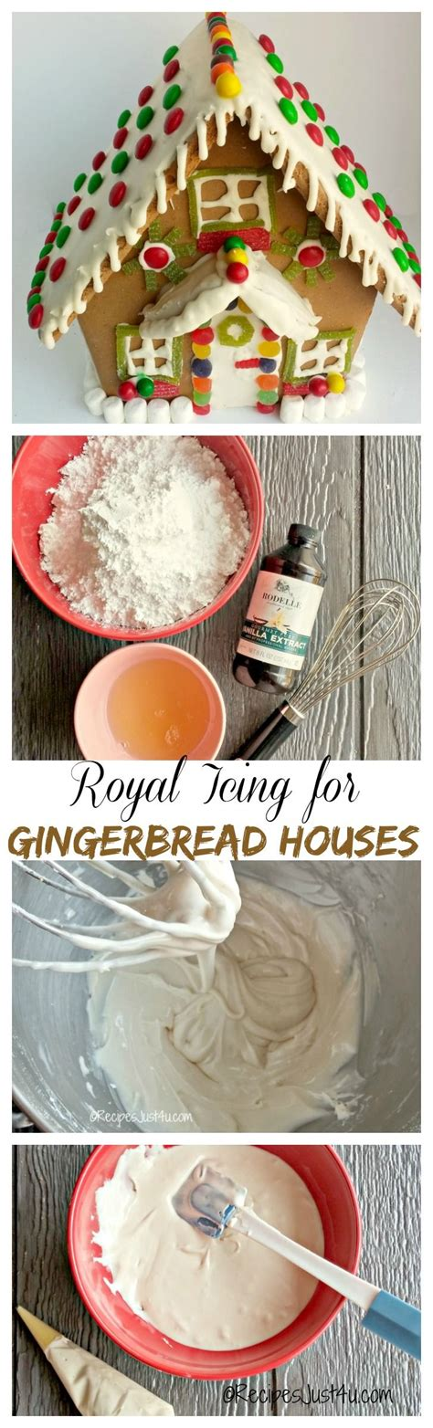 gingerbread house icing recipe 1000 ideas about icing for gingerbread houses on