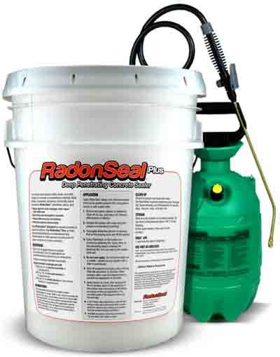 radon seal 1 concrete sealer radon mitigation and waterproofing