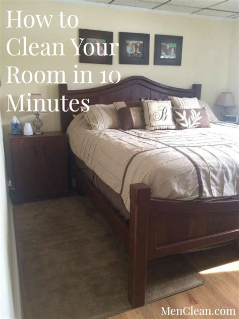 how to have a clean bedroom how to clean your room in 10 minutes menclean com