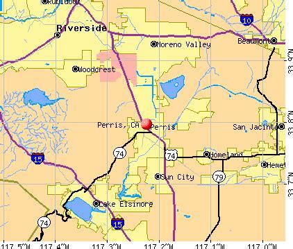 perris california ca 92571 profile population maps