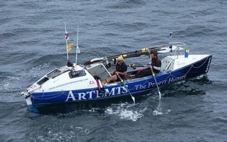 ocean sculling boat british rowers break 114 year old transatlantic crossing